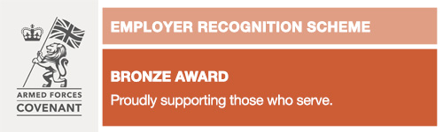 Armed Forces Covenant Employer Recognition Scheme Bronze Award (Small)