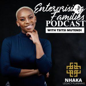 Enterprising Families Podcast with Tsitsi Mutendi - Kate Bright