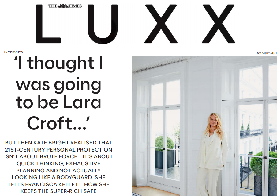 The Times Luxx - UMBRA International Group - March 2021 Image